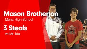 3 Steals vs Mt. Ida - Mason Brotherton highlights - Hudl