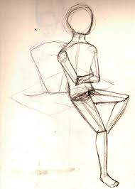 Bloqrhcreativebloqcom Draw Easy Gesture Drawing Poses A Figure In