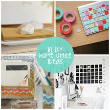 office diy ideas.  Diy 10 DIY Home Office Makeover Ideas Via Lilblueboocom For Diy
