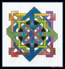 graph paper art made by myself graph paper art drawings