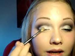 makeup tutorial dramatic black white