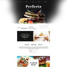 Restaurant Website Templates Custom Responsive Italian Restaurant Website Templates