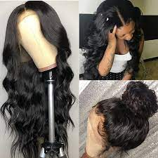 360 Lace Frontal Wig Pre Plucked with Baby Hair 360 lace Wigs Body Wave Wig  Malaysian Remy Hair Body Wave Human Hair Wigs|Human Hair Lace Wigs