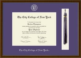 the city college of new york tassel edition diploma frame in delta  the city college of new york tassel edition diploma frame in delta item 258819