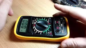 <b>Мультиметр</b> XL830L (DT850L) - заготовка гаражного помощника ...