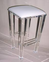 see through furniture. What A Great Way To Add Sparkle \u0026 Glamour Your Kitchen, Bar, Island, Living Room Clear See Through See-through Glass-like Furniture E
