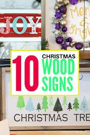 10 diy wood signs collage 3