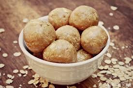 no bake peanut butter balls recipe. Fine Recipe 4 Ingredient No Bake Peanut Butter Oatmeal Balls To Recipe T