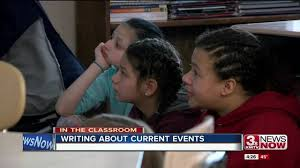 la vista elementary students learn current events by writing  la vista elementary students learn current events by writing essays