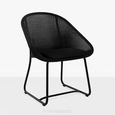 dining arm chairs black. Brilliant Chairs Breeze Outdoor Dining Arm Chair Black0 With Chairs Black O