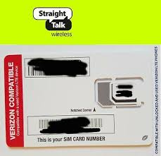straight talk sim card verizon moto z3