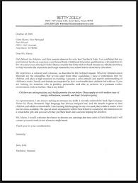Letter Template Templates Cover Letters Teacher Jobs Sample Best