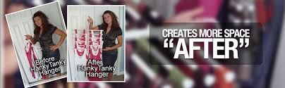 HANG 12 tops or bottoms on one hanger!!!!! Impossible you maybsayNot with  the HANKYTANKYHANGER!!!HankyTankyHanger is a unique closet space saver that  will ...