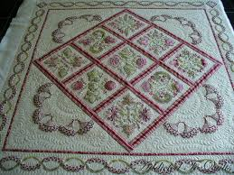 80 best Designs by Janet Sansom images on Pinterest | Machine ... & One of Janet Sansom's newest embroidery quilts. I especially like the  border on this one. Adamdwight.com