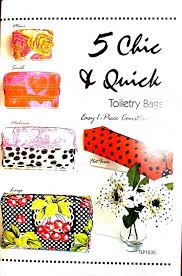 5 chic and quick toiletry bag patterns tlp1235