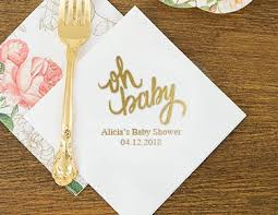 custom bar napkins. baby shower designs custom bar napkins