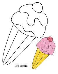 0 Level ice-cream coloring page | Download Free 0 Level ice-cream ...