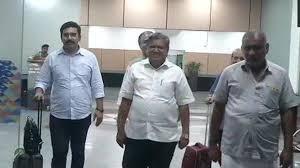 Karnataka Bjp Delegation Arrives In New Delhi To Meet Amit Shah