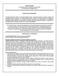 Administrative Assistant Resume Sample Executive Administrative Assistant Resume 54