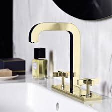 axor citterio two handle faucet in gold