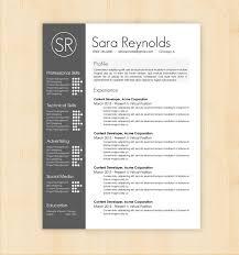 Resume Styles Free Design Resume Templates Minimal Resume Cv Template Graphic 24