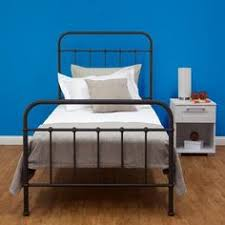 new sturdy single steel frame bed old hospital style vintage look black ebay blue vintage style bedroom