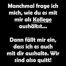 Cooler Witziger Lustiger Spruch Kollegen Arbeit Frauen Premium