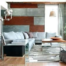 metal accent wall