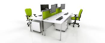 contemporary office furniture. Interesting Furniture White Office Furniture Range  Green And Contemporary