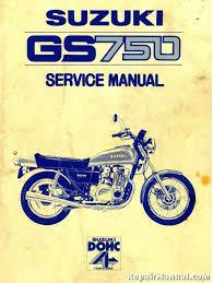 suzuki gs 750 motorcycle service manual