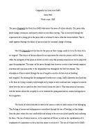 carol ann duffy a level english marked by teachers com analysis of the poem originally by carol ann duffy