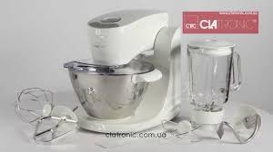 <b>Кухонный комбайн Clatronic KM</b> 3354 2в1 - YouTube