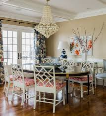 beach style dining room by katie rosenfeld design