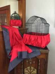 Handmade Skirt Size Chart Details About New Handmade Red Fabric Bird Cage Skirt Seed Catcher Guard 100 Cotton Xs Xxl