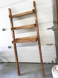ana white over the toilet storage leaning bathroom ladder easy to make over the toilet storage leaning shelf add storage for towels and tolietries without drilling holes in the wall