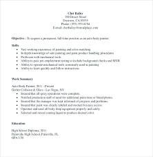 Painter Resume Extraordinary 28 Painters Resume Templates PDF DOC Free Premium Templates