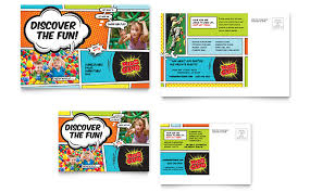 Postcard Template For Word Kids Club Postcard Template Word Publisher