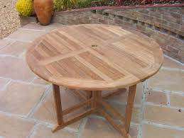 1 2m circular eg teak table