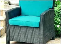 outdoor chair cushion turquoise cushions patio high back furniture pads pat