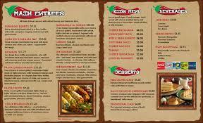 mexican food menu design. Brilliant Menu Mexican Restaurant Menu Templates Inside Mexican Food Menu Design T