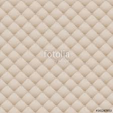 seamless mattress texture. Beige Leather Upholstery Vector Seamless Pattern, Render. Quilted Texture. Can Be Used Mattress Texture