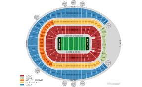 Broncos Tickets Seating Chart Denver Broncos Home Schedule 2019 Seating Chart
