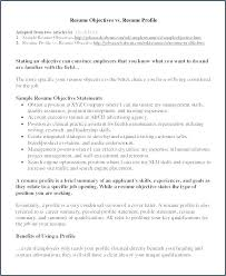 Retail Resume Objective Examples Resume Objectives For Any Job Emelcotest Com