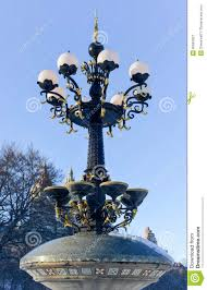 antique street lamp central park new york