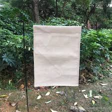2019 blank linen garden flag polyester burlap garden banner decorative yard flag for embroidery and sublimation 12x16 inches from partnertextiles