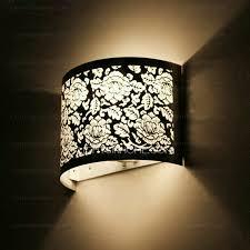 ceiling wall lights bedroom. Flower Carved Silver Shade Fancy Wall Lights For Bedroom Ceiling