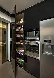 Modern Kitchen Pantry Cabinet 4 Room Hdb Yishun Project Home Decor Singapore Kitchens