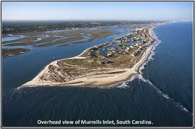 garden city sc beach. That\u0027s Really A View Of Garden City, SC. Murrells Inlet Is The Far Left City Sc Beach