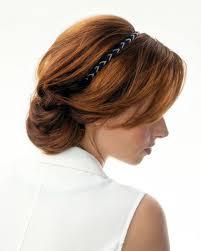 Rychlé účesy Pro Dlouhé Vlasy Zkuste Sváteční Drdol S čelenkou