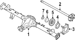 parts com® nissan axle shaft w o lock different l back 2008 nissan titan le v8 5 6 liter gas axle differential